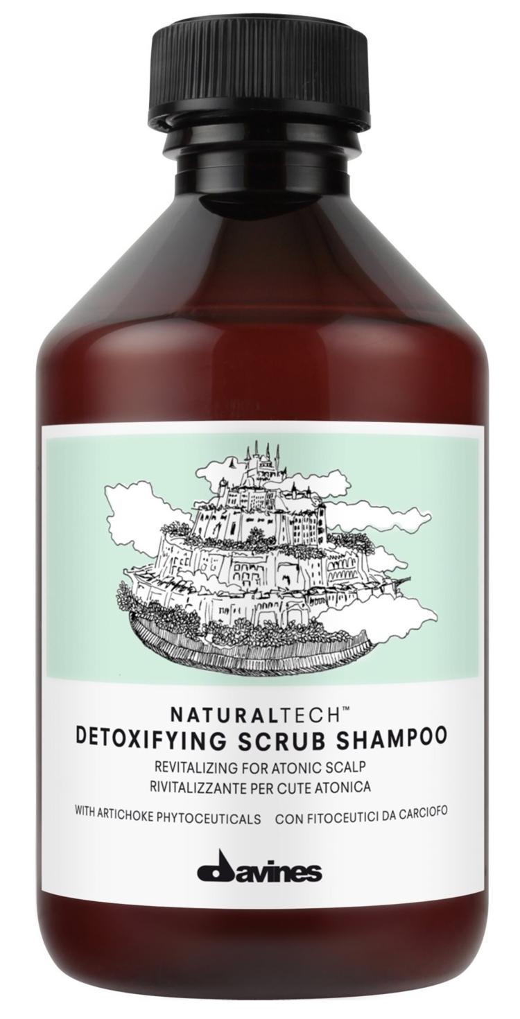 Davines, Natural Tech Detoxifying Scrub Shampoo