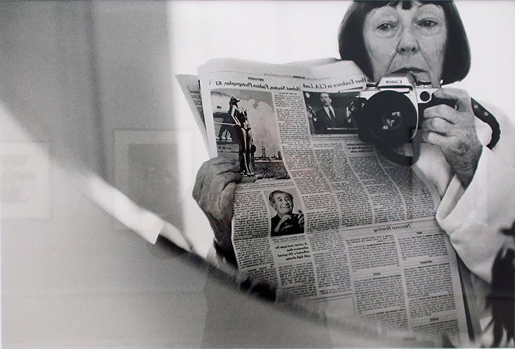 Больше чем муза: жена Хельмута Ньютона фотограф Джун Ньютон (Алис Спрингс)
