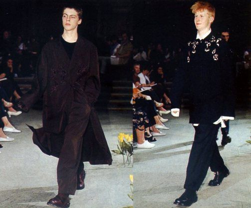 Yohji Yamamoto выпустил капсулу по мотивам летней коллекции 1996 года