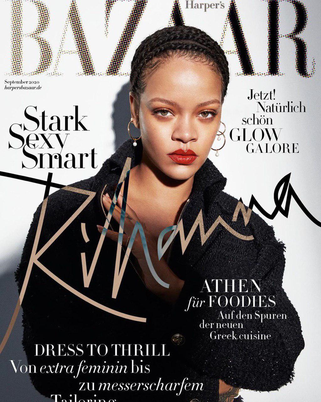 Рианна украсит сразу 26 обложек международных изданий Harper's Bazaar