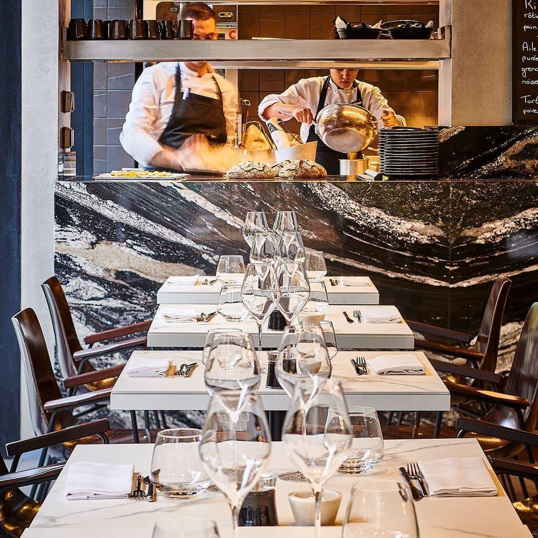 Ресторан Allenotheque в Париже